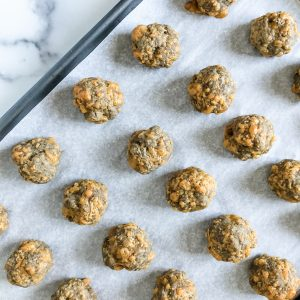 3 Ingredient Gluten Free Breakfast Sausage Balls