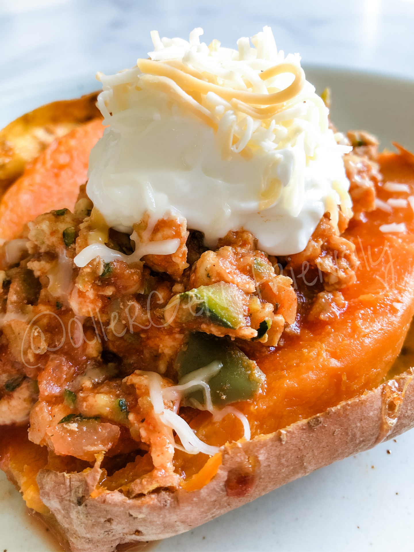 Sweet Potato Sloppy Joes