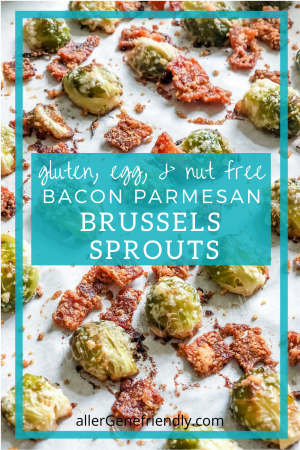 oven roasted bacon parmesan brussels sprouts