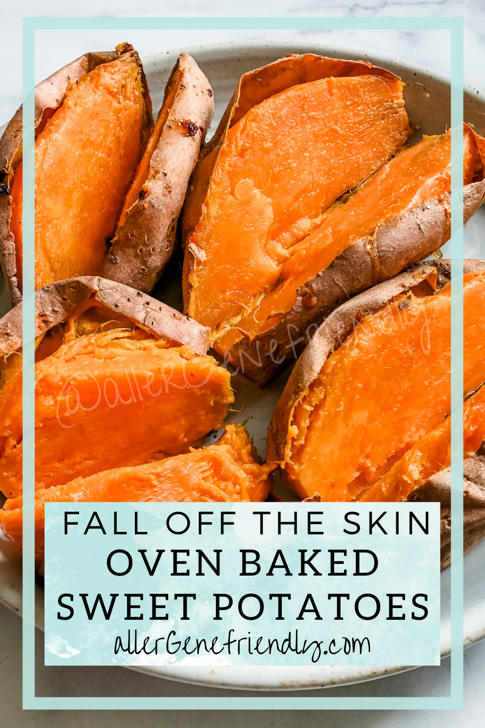easy perfect oven baked sweet potatoes